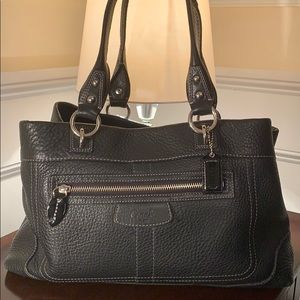 Coach Penelope Pebbled Soft Leather Tote